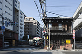 Kayaba Coffee, cafe, View of the east facade with main entrance - 90019-110-1