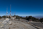 Sandia Crest with the TV transmission station in the background, Albuquerque, New Mexico - 13314-300-1
