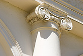 Ionic column detail on the exterior of Kenwood House, Hampstead Heath, Hampstead, London, England  - 13342-380-1