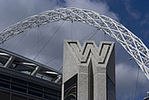 Entrance to Wembley Stadium, Wembley, London, NW10, England - 13476-80-1