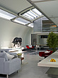 Open plan living space, Paxton house, London, UK - 11655-30-1