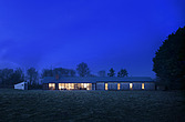 Dusk shot of front facade of Stable Acre - 13753-90-1