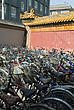 Bicycles outside Confucious Temple, Beijing, China - 11524-10-1
