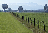 Satellite dishes, Raisting, Germany - 38558-10-1
