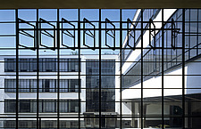 The Bauhaus Building in Dessau, Germany by Walter Gropius - 38888-70-1