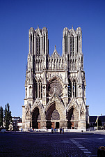 Reims Cathedral Notre Dame - Marne, France - 37055-20-1