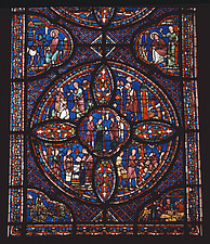 Chartres Cathedral - France - Stained glass - 37388-50-1