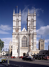Westminster Abbey, London - England, UK - 37682-10-1