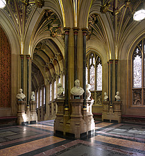 Norman Porch, Palace of Westminster, London - 11386-40-1