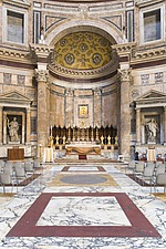 The altar at The Pantheon, Rome, Italy - 12036-40-1