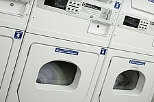 The laundry,   commercial laundrette washing machines - 31857-40-1