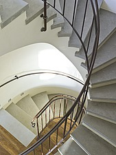 Multi-storey spiral staircase - 12544-330-1