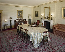 Dining Room in Down House, Luxted Road, Downe, Kent, England, UK - 12789-60-1