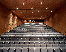Caixa Forum, interior auditorium seating rows - 12941-230-1