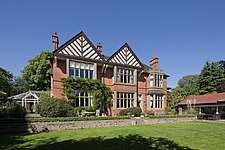 Garden exterior of Hargreaves House, Nottingham, UK - 13137-30-1
