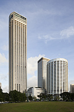 The Raffles City hotel, office and shopping complex was designed by I - 13186-10-1