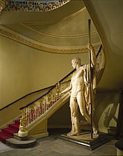 Apsley House, No 1 London, Hyde Park Corner (1771-8) - The grand staircase - 234-40-1