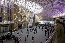 Kings Cross Station redevelopment, London - 13807-40-1