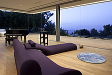 Living room floor seating in L House, Israel, Middle East - 13834-670-1