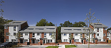 Modern terraced housing in Greater London, England - 13995-220-1