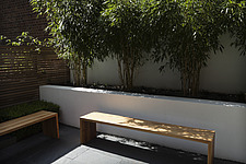 Compact, contemporary town garden/patio in the Islington area of North London, UK, designed by Modular - 14151-40-1