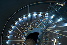 illuminated spiral staircase - 14222-640-1
