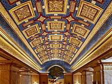 Emirates Palace, is a hotel but has become a true iconic Abu Dhabi landmark - 14686-90-1