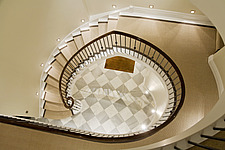 Triple height grand staircase atrium - 14712-30-1