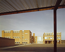 Exterior view of Forest Gate High School, Forest Gate, Newham, London, UK - 16045-30-1