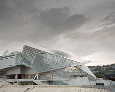 Exterior view of Musee des Confluences, Lyon, France by Coop Himmelb(l)au - 16071-50-1