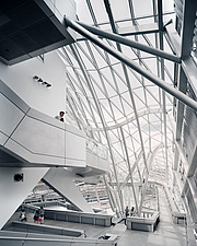Interior view of Musee des Confluences, Lyon, France by Coop Himmelb(l)au - 16071-80-1