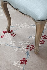 Floral carpet and chair detail - 16126-420-1