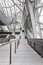 Interior walkway of the Crystal in the Musee des Confluences, Lyon, France - 16130-200-1