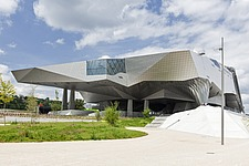The spacecraft-like Musee des Confluences in Lyon, France - 16130-210-1