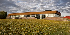 The new sports hall for Campus Ringsted, south of Copenhagen utilizes the enormous potential to orchestrate various functions in one contemporary arch... - 16247-220-1