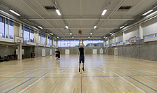 The new sports hall for Campus Ringsted, south of Copenhagen utilizes the enormous potential to orchestrate various functions in one contemporary arch... - 16247-90-1
