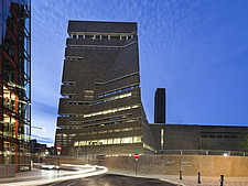 Exterior view of Blavatnik Building formerly known as Switch House, Tate Modern, London, UK - 16662-40-1