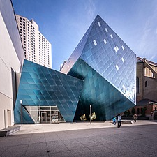 Exterior view of the Contemporary Jewish Museum in San Francisco USA by Daniel Libeskind architects - 16746-160-1