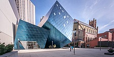 Exterior view of the Contemporary Jewish Museum in San Francisco USA by Daniel Libeskind architects - 16746-170-1