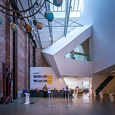 Interior view of the Contemporary Jewish Museum in San Francisco USA by Daniel Libeskind architects - 16746-180-1
