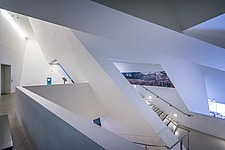 Interior view of the Contemporary Jewish Museum in San Francisco USA by Daniel Libeskind architects - 16746-80-1