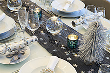 Silver and White Christmas Decorations - 16753-100-1
