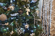 Silver and White Christmas Decorations - 16753-200-1