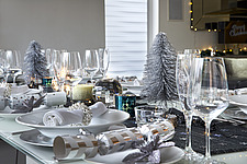 Silver and White Christmas Decorations - 16753-80-1