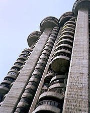 Torres Blancas Brutalist cylindrical tower block - 10764-40-1