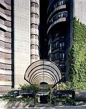 Torres Blancas Brutalist cylindrical tower block - 10764-50-1