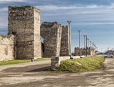 Ruins at Smederevo Fortress in Serbia - 16856-550