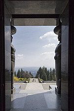 The Monument to the Unknown Hero, designed by Ivan Mestrovic and completed in 1938, located on Mount Avala, near Belgrade, Serbia - 16856-640