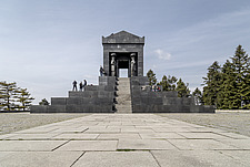 The Monument to the Unknown Hero, designed by Ivan Mestrovic and completed in 1938, located on Mount Avala, near Belgrade, Serbia - 16856-650