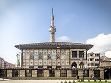 The Sarena Mosque in Tetovo, Macedonia, - 16856-810